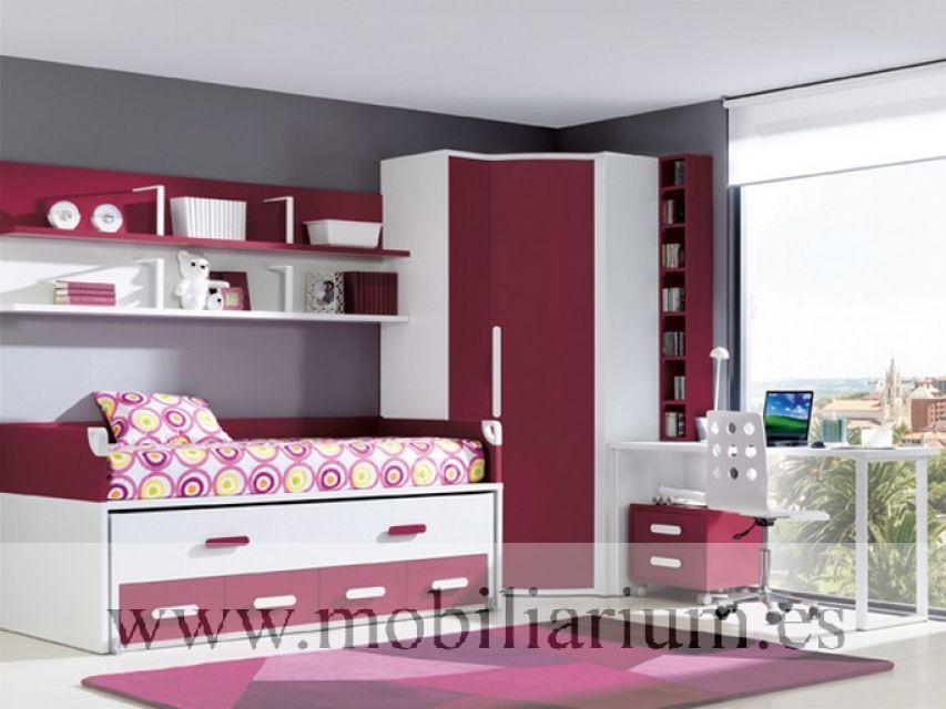 Mobiliarium muebles vicente gasc n compactos - Dormitorios juveniles compactos ...