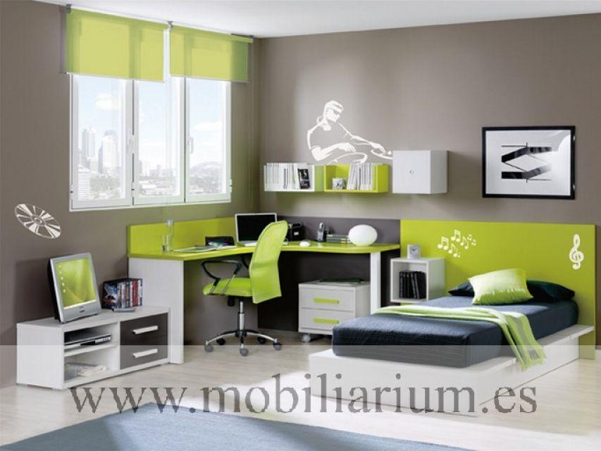 Mobiliarium muebles vicente gasc n compactos - Muebles compactos juveniles ...